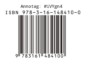 ISBN Area with Annotag